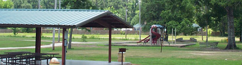 The city park is a favorite destination of adults and children alike.